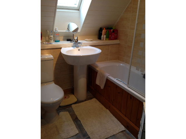 BATHROOM - 1.89m x 1.69m